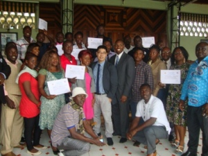 Limbe-US Seminar Participants